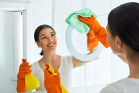 Professional cleaning service at $16/hr.