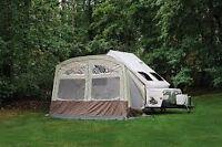 Auvent et abri de tente-roulotte hard-side Flagstaff / Rockwood