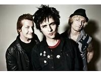 STANDING TICKETS GREEN DAY SHEFFIELD 3RD OF JULY