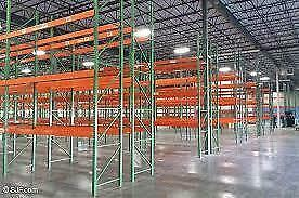 HUGE PALLET RACKING / SHELVING LIQUIDATION OVER 4000 PIECES OF RACKING