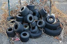 Over 10 sets of Go Kart Tyres, In Great Condition $20 a Set