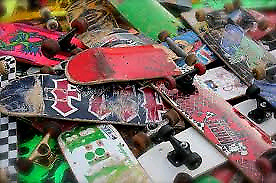 Wanted skateboard decks and parts