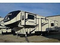 Forest River Sierra 379FLOK American 5th wheel/RV/Showmans caravan/trailer,