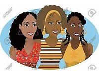 Women friends friendship social black