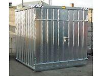 BOS (Best of Steel) Flat pack steel storage unit 3m long x 2m wide x 2m high