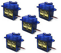 5PCS x SG90 Micro 9g Servo For RC Airplane Car Boat Genuine