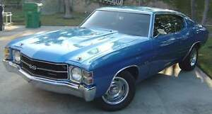 WANTED ** 1969 - 1972 CHEVELLE ** or similar