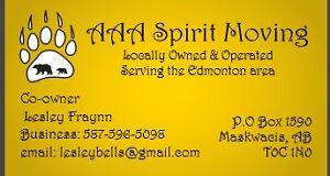 $79.99 hour/Free Cargo insurance. AAA Spirit Moving Edmonton Edmonton Area image 5