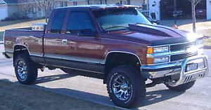 Wanted cowl hood or aftermarket bumpers for 90s chevy