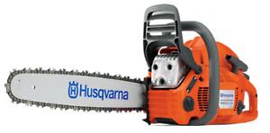 "Husqvarna chain saw 455 18"""