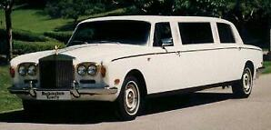 1979 ROLLS-ROYCE 8-PASS SILVER SHADOW GRAND TOURING LIMO