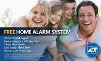 Alarm System with Free HD Camera-Great Deal ! 647-785-1887!