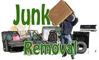 Junk removal $50 plus dump fee for small loads