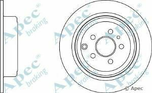 Apec Braking OE Quality Replacement Single Brake Disc Disk - DSK948