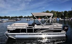 Looking for pontoon year ? outdoard size?