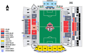 2 Toronto FC Tickets MLS First Playoff Round - Wed Oct 26th@7:30 Kitchener / Waterloo Kitchener Area image 2