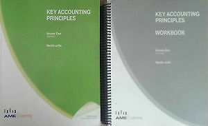 Key Accounting Principles Textbook and Workbook 1 & 2