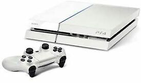 SONY WHITE PLAYSTATION 4 CONSOLE 500GB