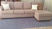 Harvey Norman 5 Seater lounge with chaise in very good  condition Highton Geelong City Preview
