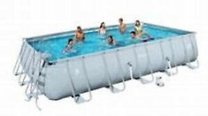 Coleman Rectangle Pool 22ft x 12ft