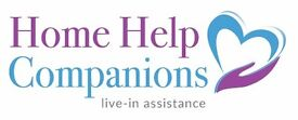 Live-in Companions needed for elderly clients in own private homes. Full-time OR part-time