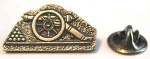 US Civil War Gettysburg Memorial Gun Cannon Artillery Type Badge # 1 Pin NOS