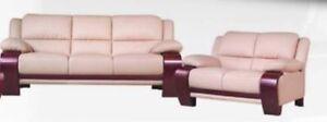 GENUINE LEATHER (Sofa + Loveseat)
