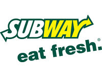 New listing - SUBWAY™ - Part Time Sandwich Artist™ required