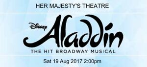 Aladdin Tickets x2 Malvern Stonnington Area Preview