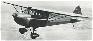 1939 J4A Cub Coupe Airplane Project