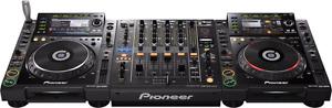 Pioneer cdj-2000s + pioneer nxs-900 mixer