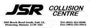 JSR Collision Centre - Pickering - 30+ Years Experience