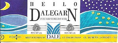 Heilo Dale of Norway Yarn 50 gr skeins