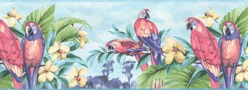 Tropical Wallpaper Border Ebay