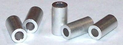 50 14 Od Round Spacers 8 X 316 Aluminum