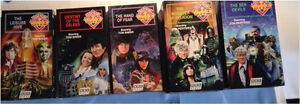 7 Dr Who VHS tapes