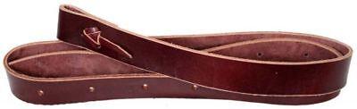 Brown Premium Leather Tie Strap Latigo Girth Cinch for Western Saddle