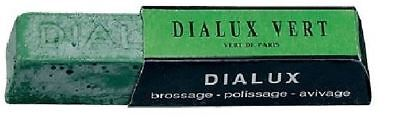 DIALUX VERT GREEN ROUGE JEWELERS POLISHING COMPOUND JEWELRY POLISH 1 BAR