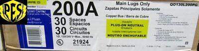 Nib Square D Qo130l200pg 200 Amp Main Lug Single Phase Id Load Center Ws Cover
