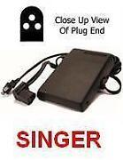 Singer Foot Control