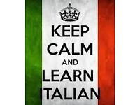 ITALIAN CLASSES - FREE LESSON!