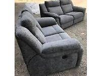 Lazy boy grey power recliner 3&2 sofa