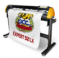 Vinyl cutter plotter 52 inches GCC Expert LX Contour cut!