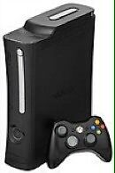 Xbox 360 with gta 5, 2 other games and halo remote