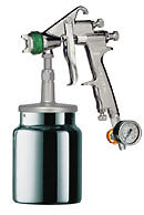 Primer Spray Gun Hvlp 1.7mm For Use In Body Shops Industry And Woodwork New