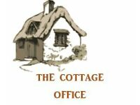 The Cottage Office provides reliable and professional business support - 'virtual' admin services.