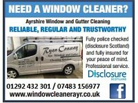 Ayr Window Cleaning Service, 01292 432 301 / 07483156977