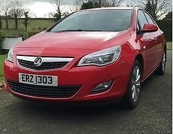 Vauxhall Astra 2012 1.4L Power Red £4700 O.N.O