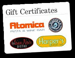 Black dog hospitality dinning gift card$75 for $60.. Free $15 Kingston Kingston Area image 1