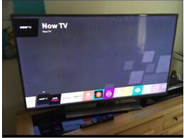 "Smart 3D 50"" LED TV LG as new with built-in WIFI and 3D glasses model LG - 50LB650V"
